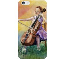 Little Cellist iPhone Case/Skin