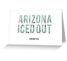 Arizona iced out Greeting Card