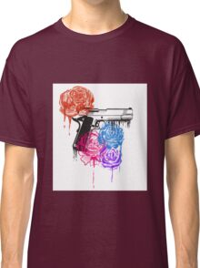 Roses and Guns Classic T-Shirt