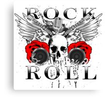 Rock Roll Classic  Canvas Print