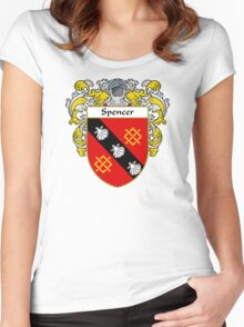 Spencer Coat of Arms / Spencer Family Crest Women's Fitted Scoop T-Shirt