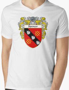 Spencer Coat of Arms / Spencer Family Crest Mens V-Neck T-Shirt