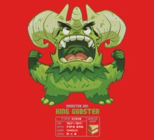 Super Monster - King Gobster! Kids Tee
