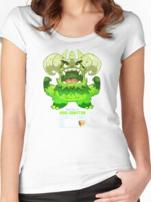 Super Monster - King Gobster! Women's Fitted Scoop T-Shirt