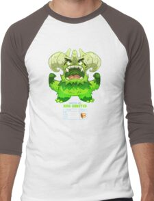 Super Monster - King Gobster! Men's Baseball ¾ T-Shirt