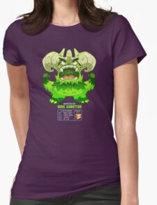 Super Monster - King Gobster! Womens Fitted T-Shirt