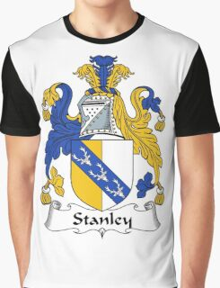 Stanley Coat of Arms / Stanley Family Crest Graphic T-Shirt