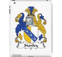 Stanley Coat of Arms / Stanley Family Crest iPad Case/Skin