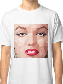 Marilyn Monroe Polyart 2 Classic T-Shirt