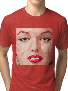 Marilyn Monroe Polyart 2 Tri-blend T-Shirt