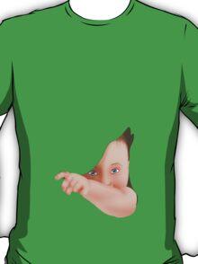 Hide Away Peek A Boo Baby T-Shirt