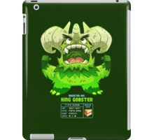 Super Monster - King Gobster! iPad Case/Skin