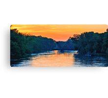 Full River Canvas Print