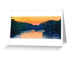 Full River Greeting Card