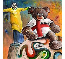 On Top of The World Cup 2014 Photographic Print