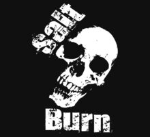 Salt N Burn Skull by ratherkool