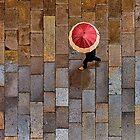 Galician Shower. Obradoiro Square, Santiago de Compostela by Mark Higgins