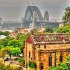 Sydney Harbour Bridge from Observatory Hill .. HDR by Michael Matthews