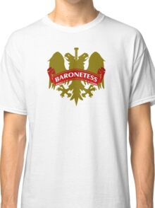 The Baronetess Coat-of-Arms Classic T-Shirt