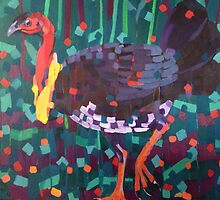 Brush Turkey by Mellissa Read-Devine