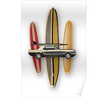 MUSTANG SURF Poster