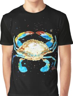 Blue Crab by Jan Marvin Graphic T-Shirt