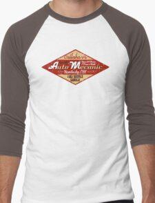 Callahan's Auto Mechanic Men's Baseball ¾ T-Shirt
