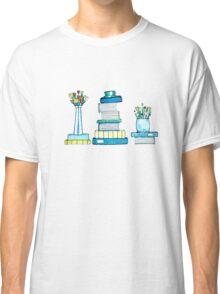 Tulips & Books Classic T-Shirt