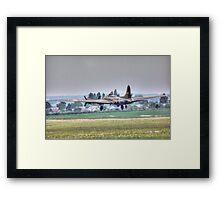 Sally B Takeoff Framed Print