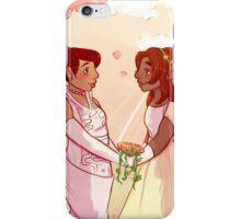 Cremia and Anju - Wedding iPhone Case/Skin