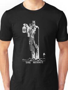 Tarot - The Hermit - Black Unisex T-Shirt