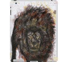 Scribble Ink Lion iPad Case/Skin
