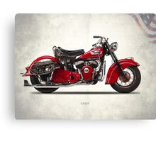 The 1950 Chief Canvas Print