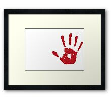 Real assassins Framed Print