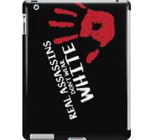 Real assassins iPad Case/Skin