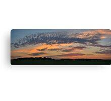 Iowa Sunrise 2 Canvas Print