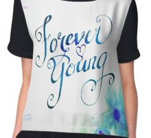 Forever Young by Jan Marvin Chiffon Top