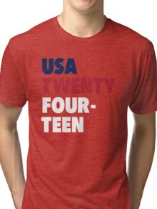 Team America for the World Cup 2014 Tri-blend T-Shirt