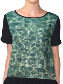 Whimsical Water Works - Crystal Clear Med and Fishes - Take One Chiffon Top