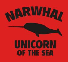 Narwhal Unicorn Of The Sea One Piece - Long Sleeve