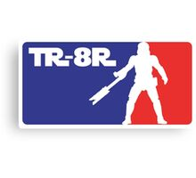 Loyal Trooper TR-8R Logo (major league colors) Canvas Print