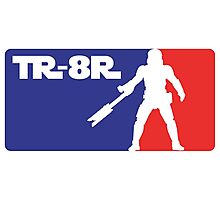 Loyal Trooper TR-8R Logo (major league colors) Photographic Print