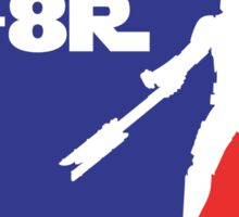 Loyal Trooper TR-8R Logo (major league colors) Sticker