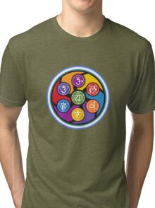 Chakra Circle Tri-blend T-Shirt