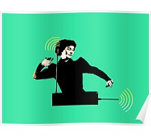 Lucie Rosen Theremin player Poster