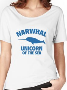 Narwhal Unicorn Of The Sea Women's Relaxed Fit T-Shirt