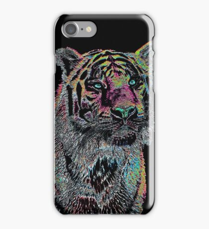 Surreal Tiger iPhone Case/Skin