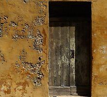 Weathered Doorway by davidandmandy