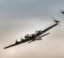 Sally B with Mustang Escort by Nigel Bangert