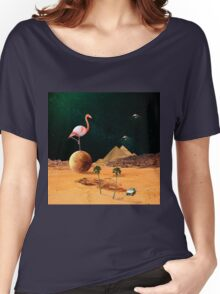 Mars Scape Women's Relaxed Fit T-Shirt